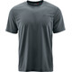 Maier Sports Walter - T-shirt manches courtes Homme - gris